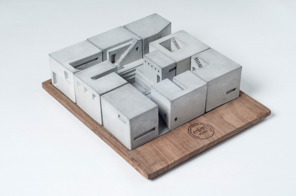 Miniature Concrete architecture 04