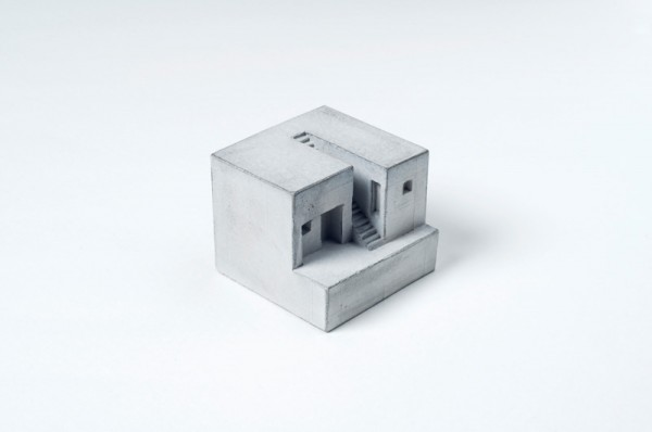 Miniature Concrete architecture 02