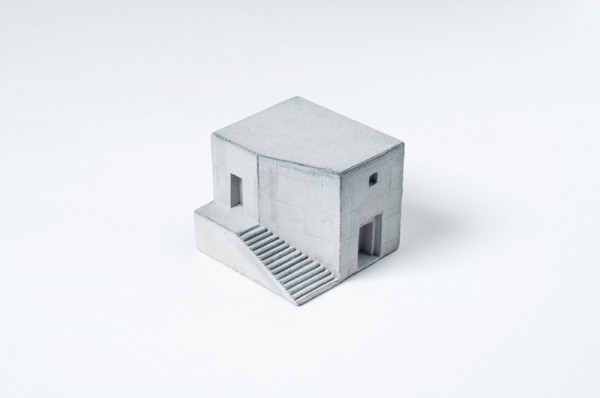 Miniature Concrete architecture 03